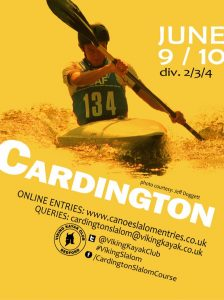 Cardington Slalom Competition Div 2/3/4 @ Cardington Canoe Slalom Course | United Kingdom
